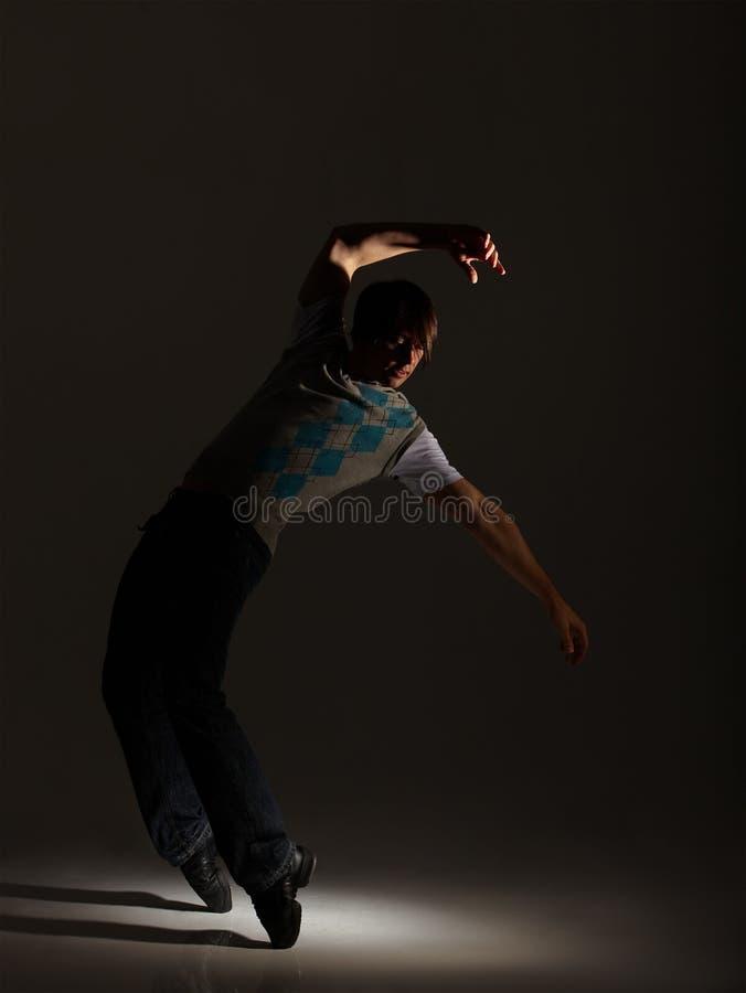 Танцор крана стоковое изображение