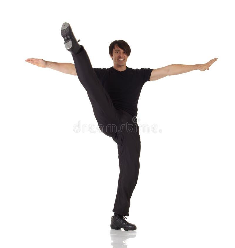 Танцор крана стоковое изображение rf