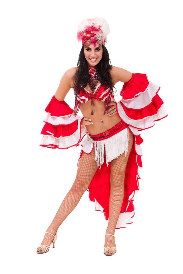 танцор масленицы стоя молод стоковое изображение