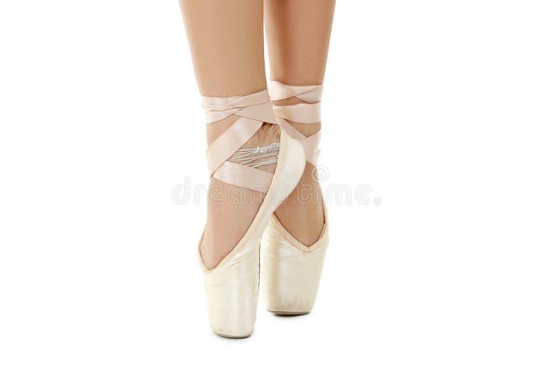 Танцор на pointe стоковое изображение