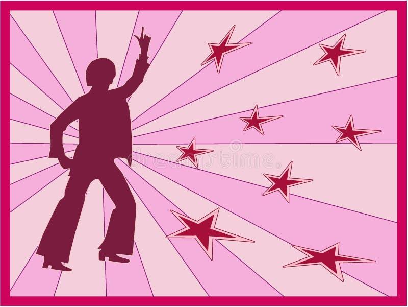 Download танцор ретро иллюстрация вектора. иллюстрации насчитывающей сексуально - 1182513