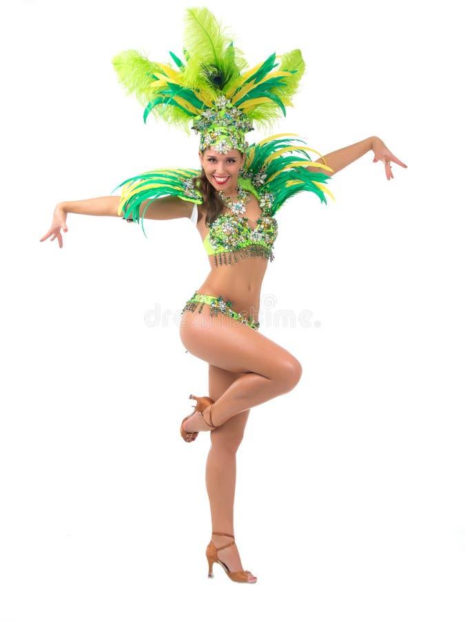 Танцор самбы стоковые фотографии rf