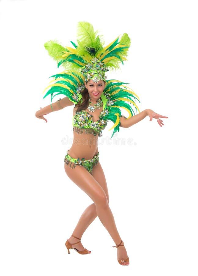 Танцор самбы стоковые изображения