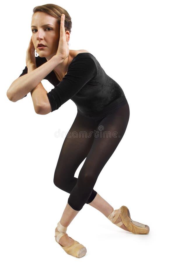 Танцор самомоднейшего балета стоковые фотографии rf