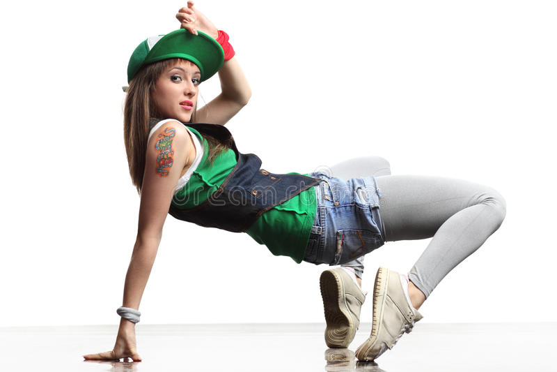 танцор самомоднейший стоковая фотография