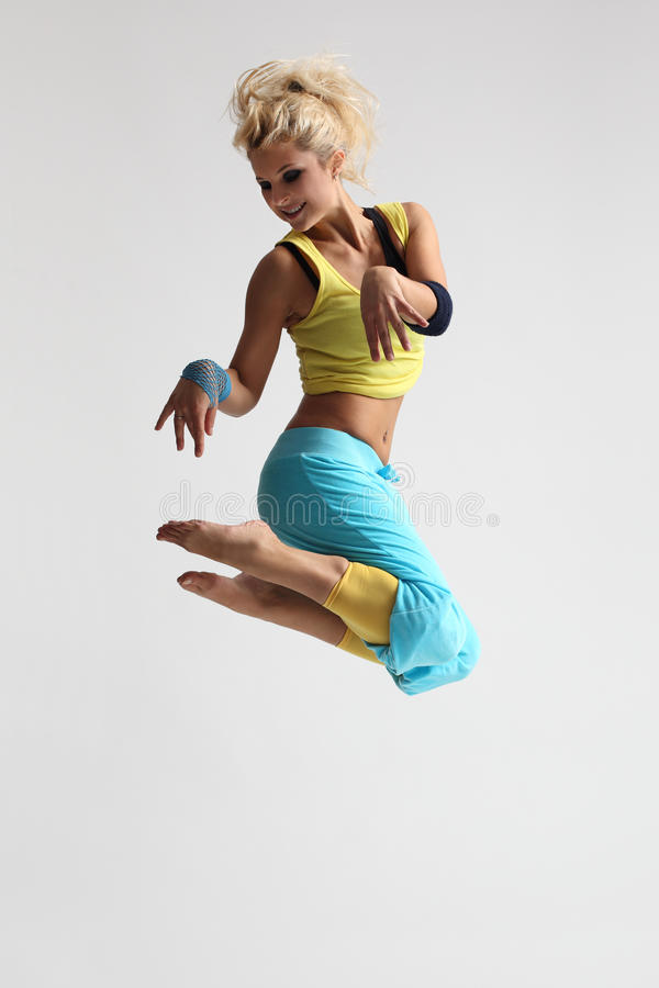 танцор самомоднейший стоковое фото rf