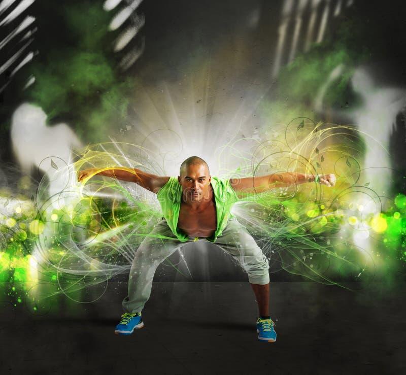 танцор самомоднейший стоковое изображение rf