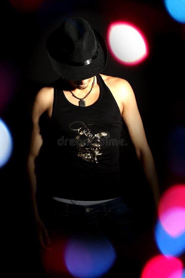 танцор стильный стоковые фото