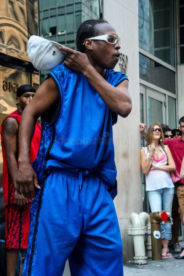 Танцор улицы стоковое изображение rf