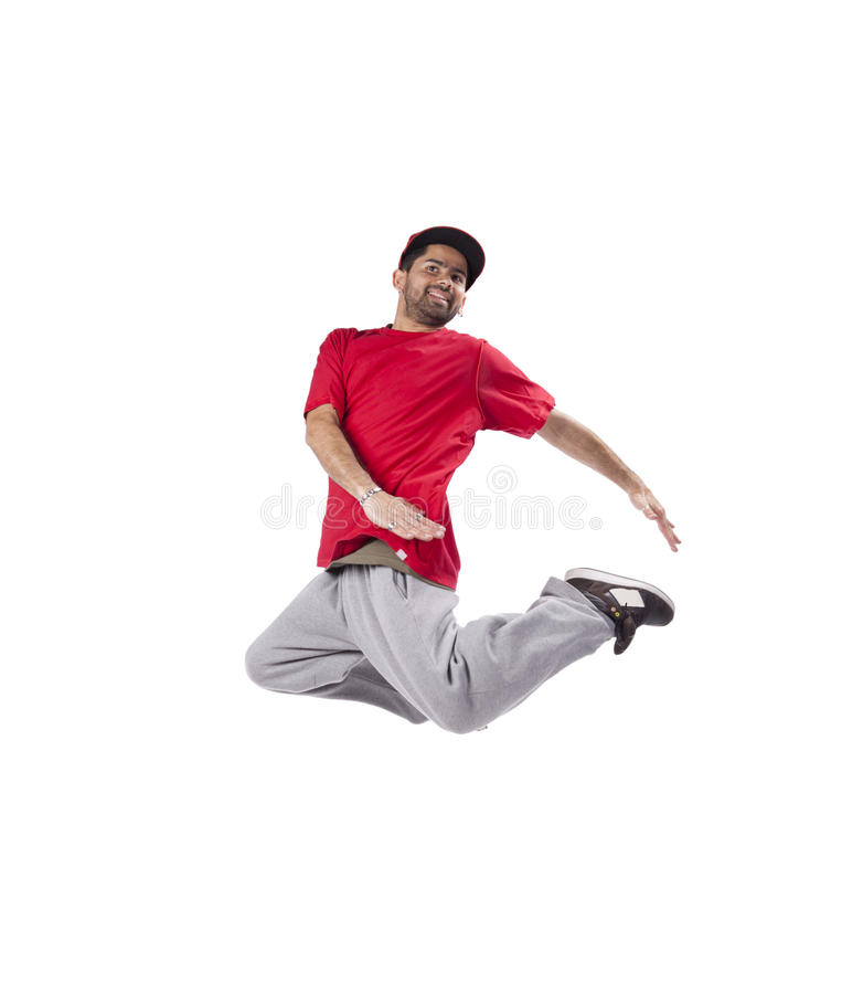 Танцор хмеля вальмы стоковое фото