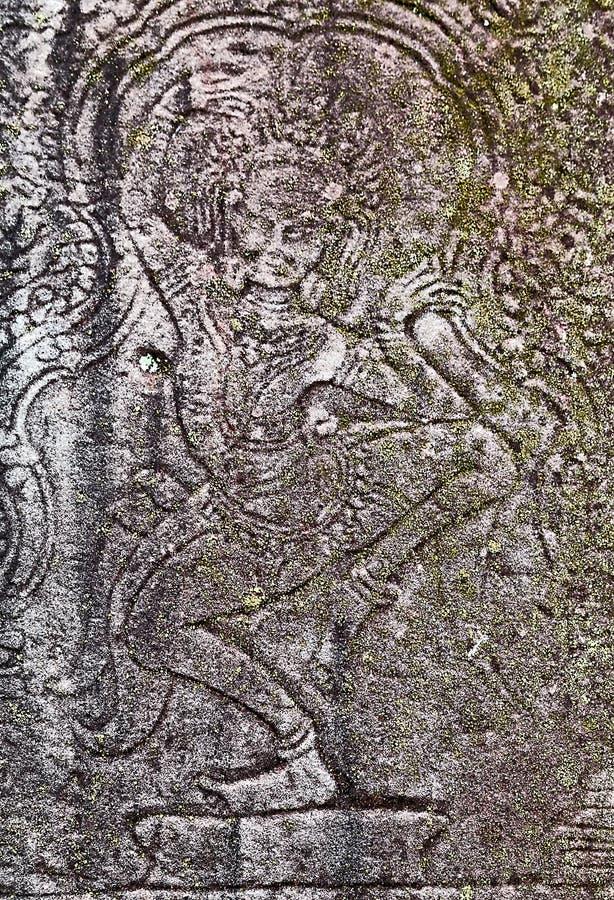 Танцор Apsaras стоковая фотография