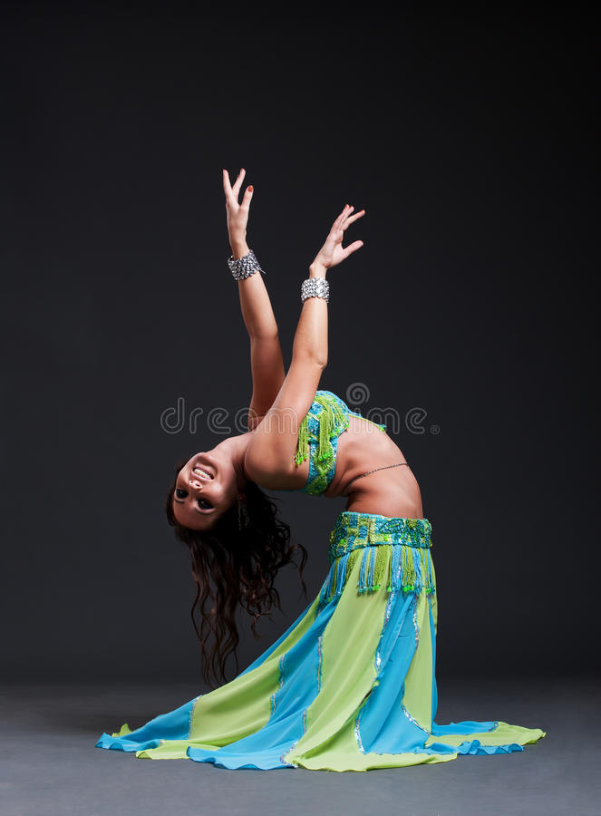 танцор oriental стоковое изображение