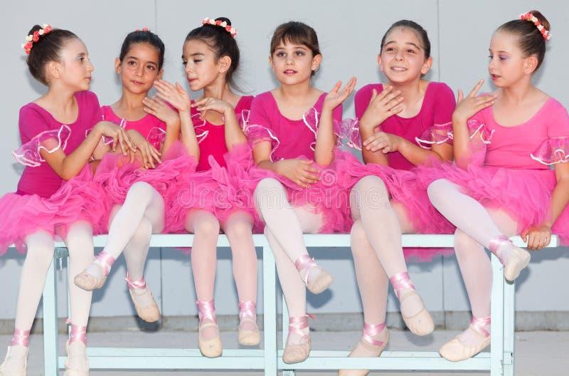 Танцулька балета стоковое изображение rf