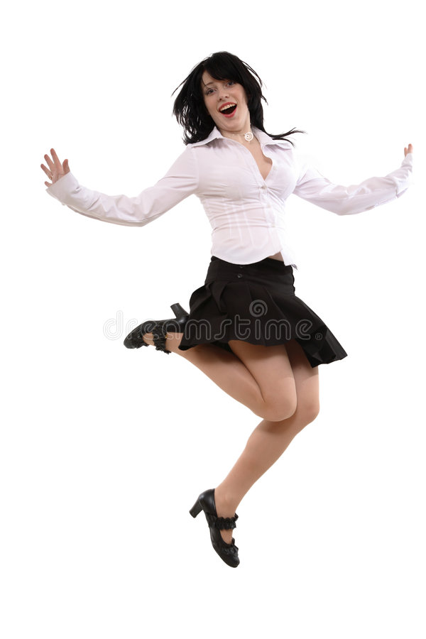 танцулька одичалая стоковые изображения