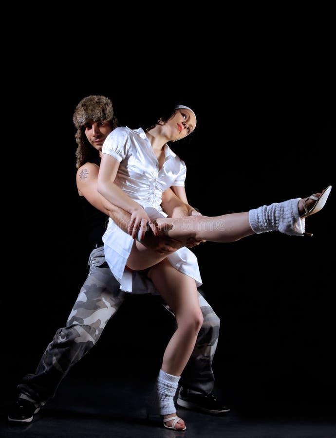 танцулька пар стоковое изображение rf