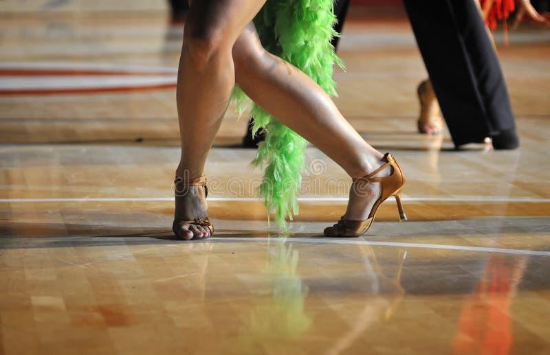 танцулька состязания стоковая фотография rf