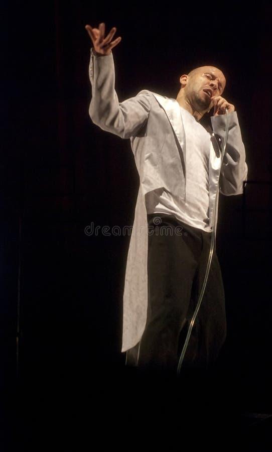 Танцулька Hip-hop стоковое фото rf