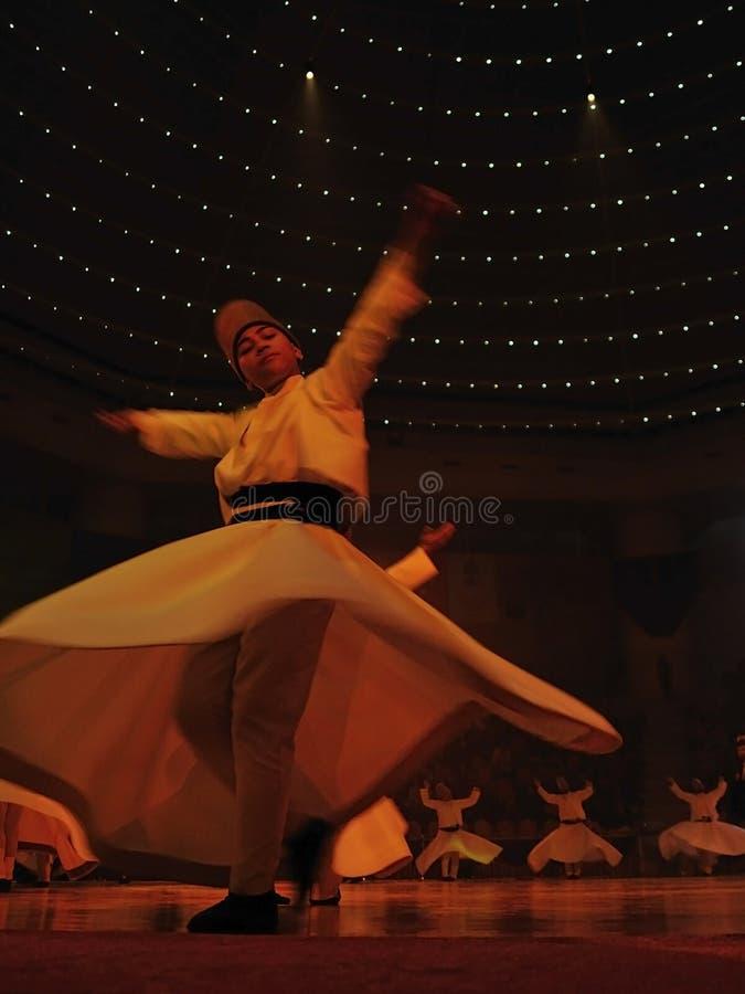 танцуя вероисповедный whirligig стоковые изображения rf