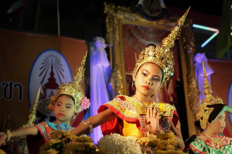 танцулька тайская стоковое фото
