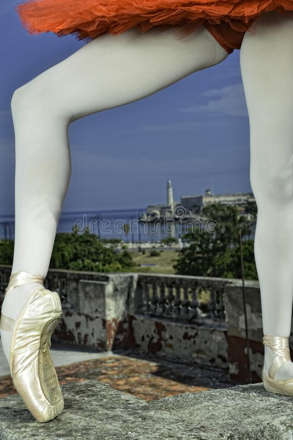 Танцы в Гаване стоковое фото rf