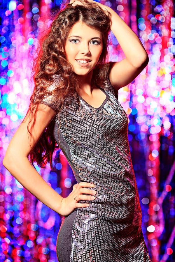 Танцы диско стоковые изображения rf