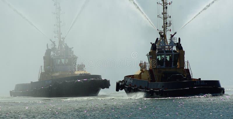 Танцы кораблей стоковая фотография rf