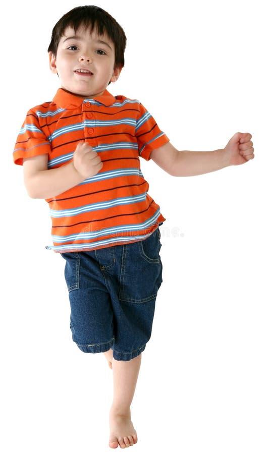 танцы мальчика стоковое фото