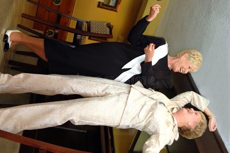 танцы штанги стоковые изображения