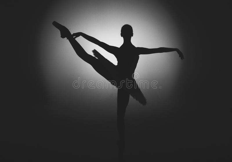 Тапка скачки искусства танца артиста балета стоковое изображение