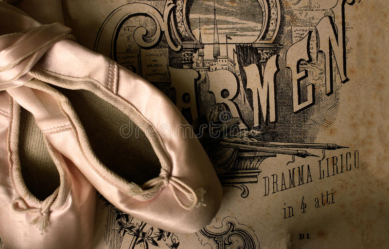 тапочки балета стоковое фото