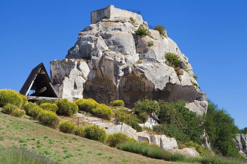 Download Таран в Les Baux стоковое изображение. изображение насчитывающей promontory - 37929713