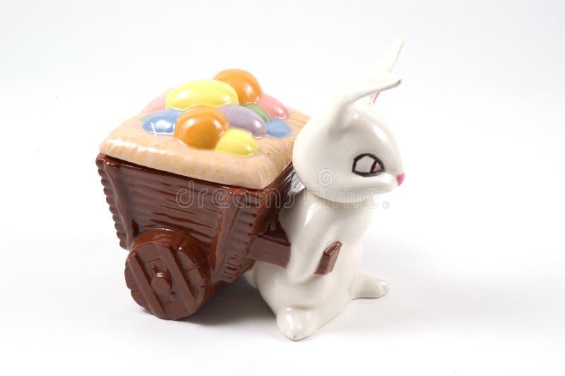 тарелка пасха конфеты стоковая фотография