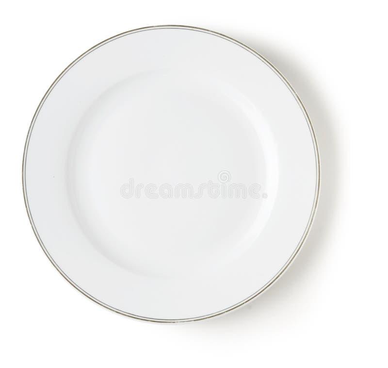 тарелка пустая стоковое фото rf