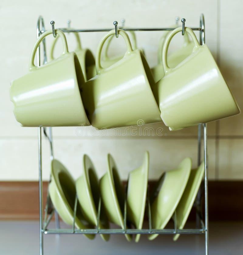 тарелки стоковое фото