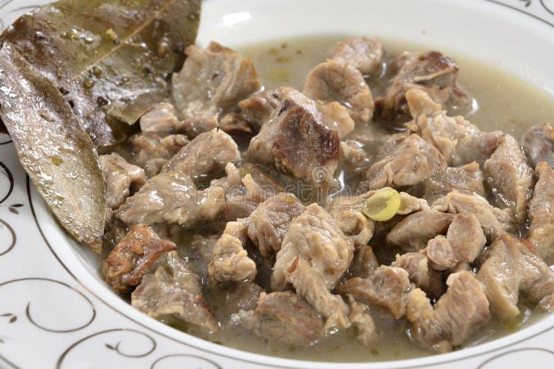 Тарелка мяса стоковые фотографии rf