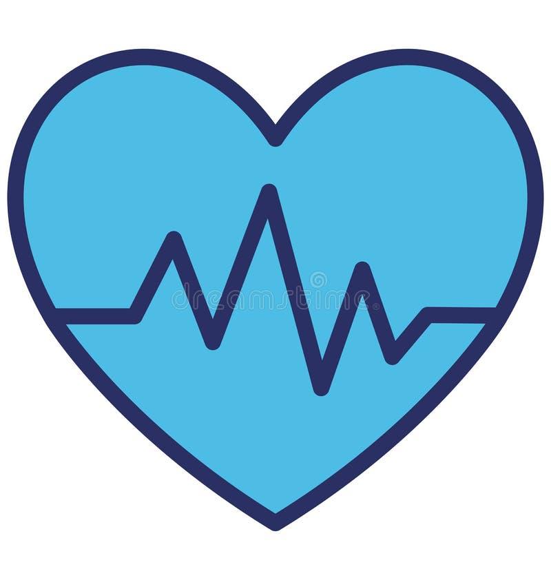 Тариф сердца изолировал значок вектора который может легко доработать или отредактировать бесплатная иллюстрация