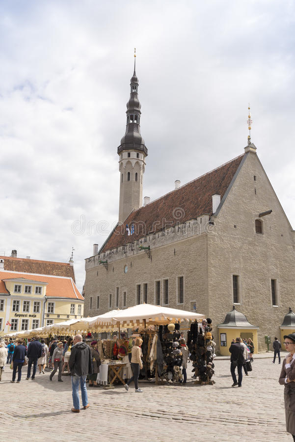 Таллин Эстония стоковое фото rf