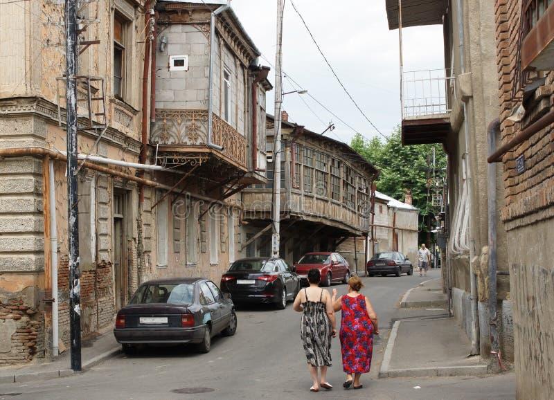 Тбилиси, Georgia, Европа стоковая фотография