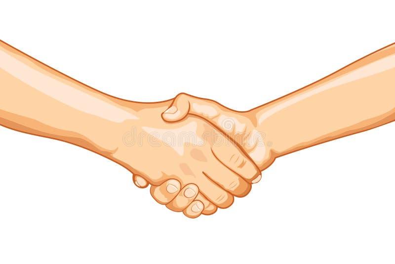 твердое рукопожатие бесплатная иллюстрация