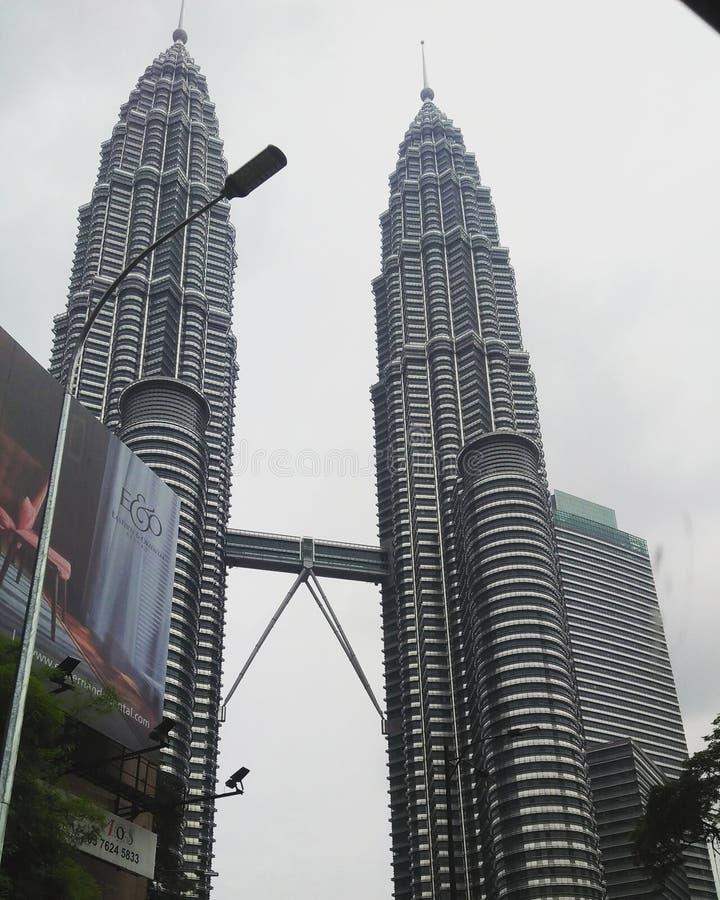 Твин-Тауэрс Куала-Лумпур стоковые изображения