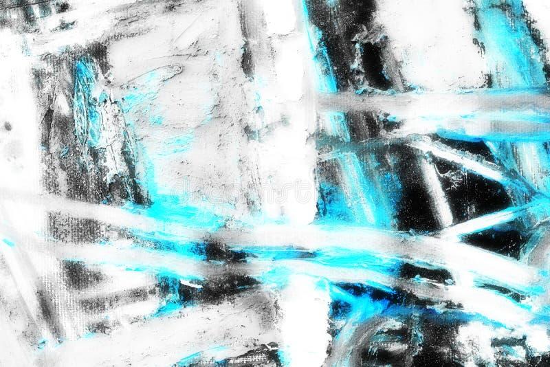 Творческая абстрактная рука покрасила предпосылку, обои, текстуру Backgrounde абстрактного искусства стоковое изображение