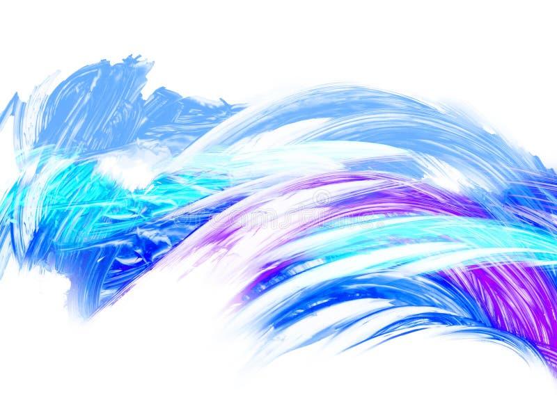 Творческая абстрактная рука покрасила предпосылку, обои, текстуру, c стоковые изображения rf