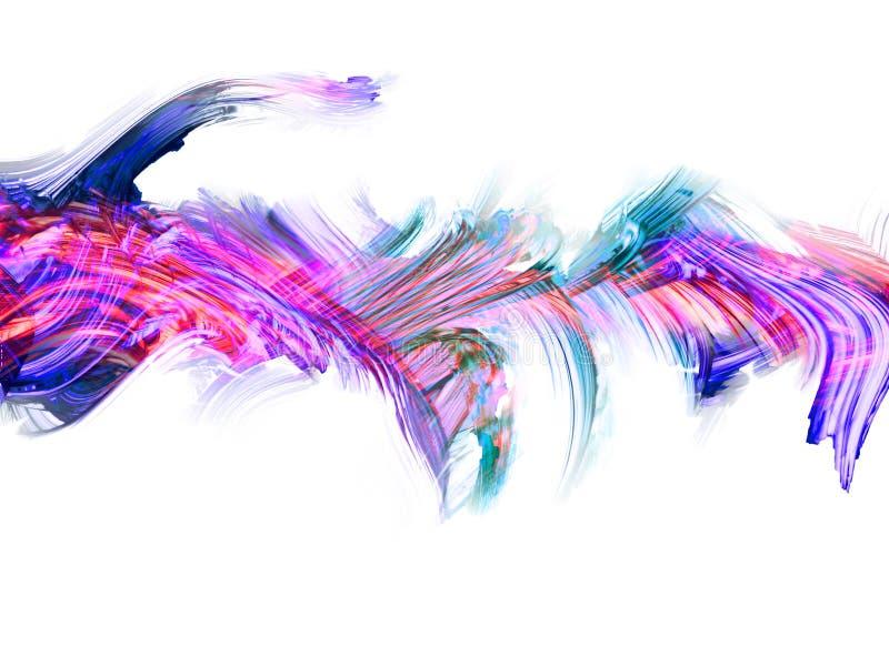 Творческая абстрактная рука покрасила предпосылку, обои, текстуру, c стоковая фотография rf
