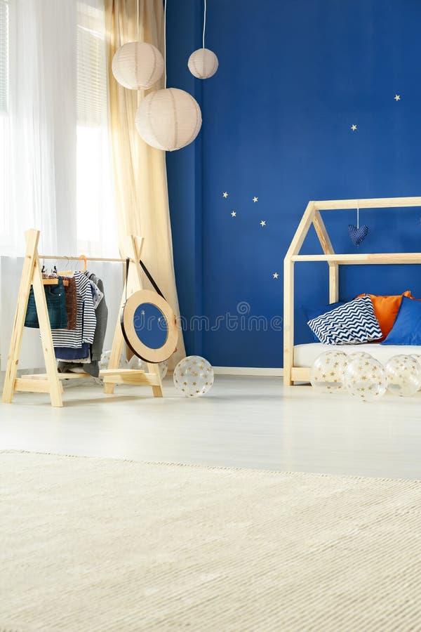 Творческая комната ребенка стиля стоковые фото