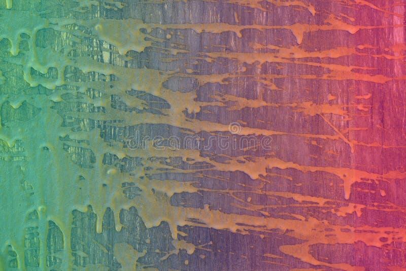 Творческая оранжевая таблица с пятнами цемента текстурирует - чудесную абстрактную предпосылку фото стоковые изображения rf