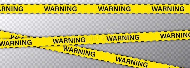 Творческая полиция выравнивает черную и желтую границу нашивки Полиция, предупреждение, под конструкцией, не пересекает, не остан бесплатная иллюстрация