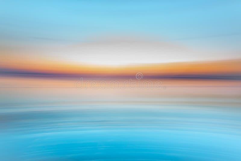 Творческая предпосылка - голубая, белый, желтый, оранжевый стоковые фото