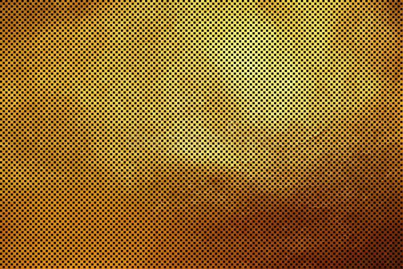 Творческая современная цифровая роскошная shinning checkered предпосылка конспекта картины текстуры решетки квадрата/куба золотая стоковые фотографии rf