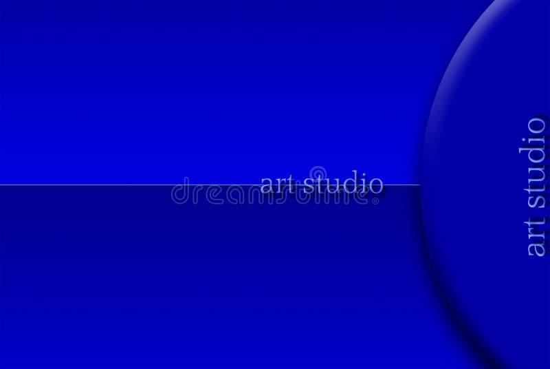 Творческая студия - студия искусства Созданный в программах 3D иллюстрация вектора