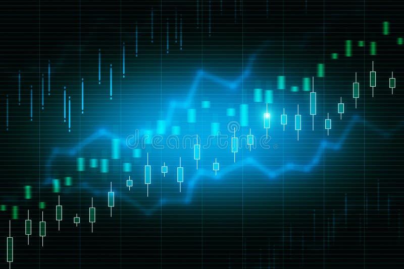 Творческая текстура диаграммы валют иллюстрация штока